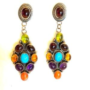 Navajo NAKAI earrings